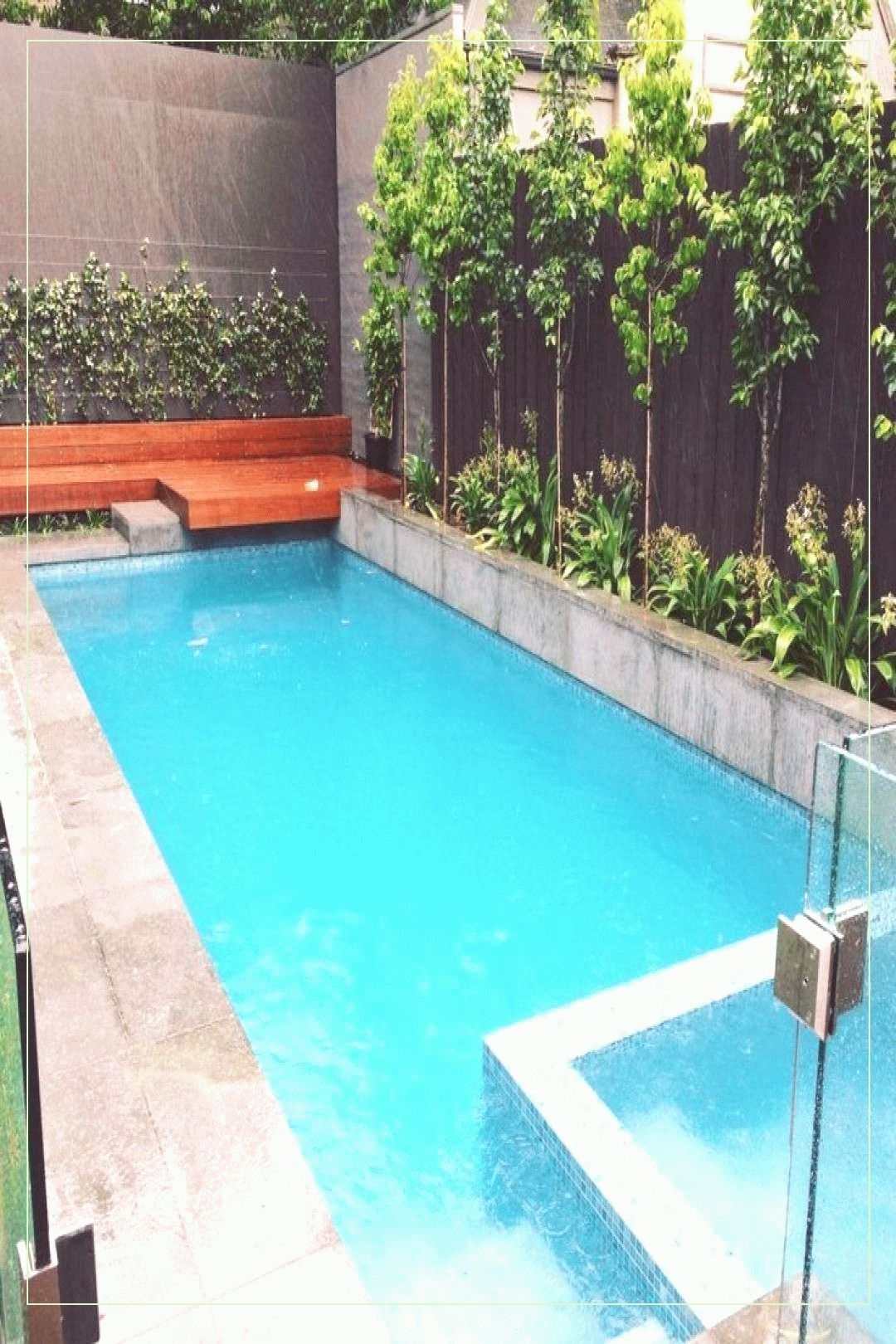 Small Pools 76210 Landscaping Ideas Small 23 Pool Landscaping Ideas Tropical Small Ba Backyard Pool Landscaping Indoor Pool Design Swimming Pool Landscaping