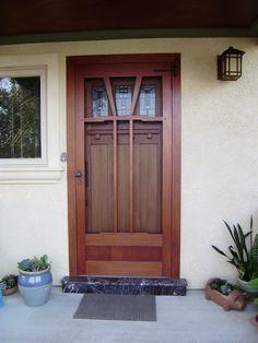 Image result for nice front screen door   Exterior remodel ideas ...