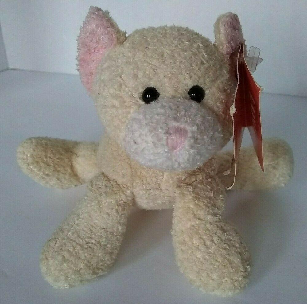 Russ Luv Pets Tabbies Cat Kitten 5 Plush Bean Bag Soft Mini Toy