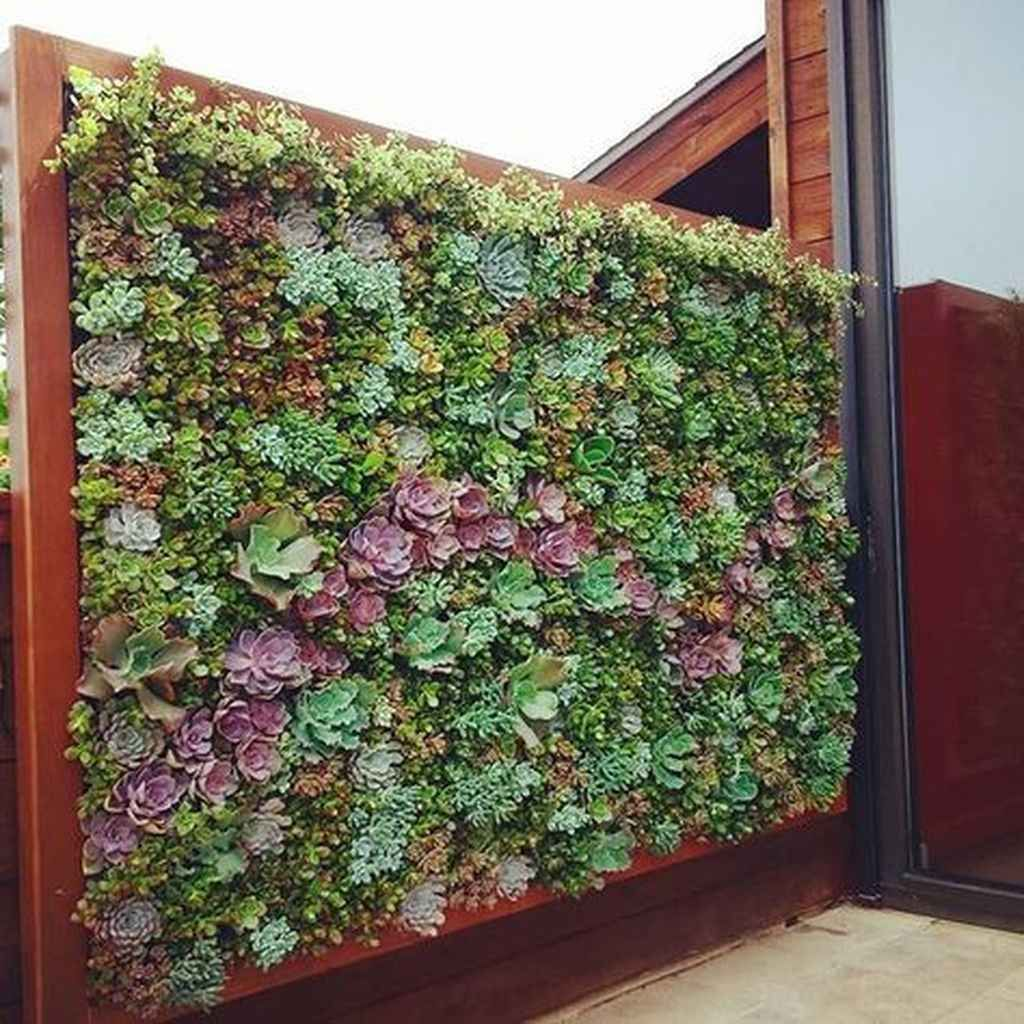 Beautiful Vertical Garden Ideas: 85 Beautiful Vertical Garden For Wall Decor Ideas