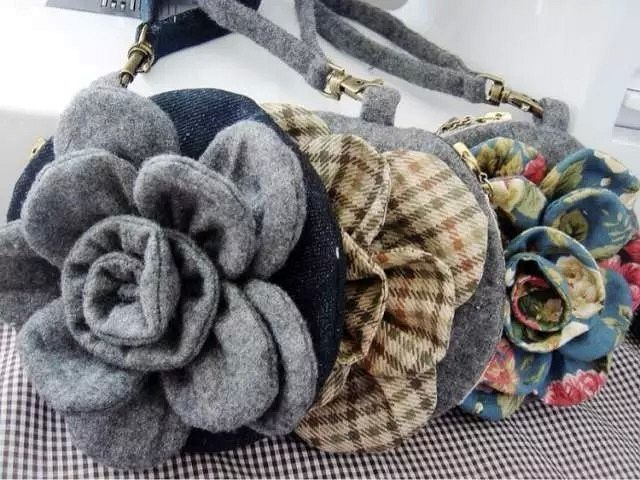 Vintage flower purse tutorial bags bags bags bolsos caja