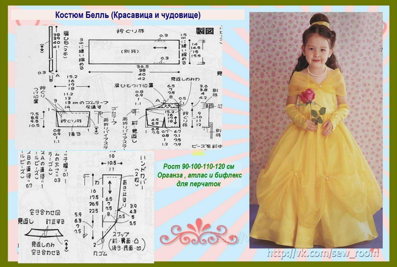 moldes-de-vestidos-de-princesas-para-ninas-4 | 4 años | Pinterest ...