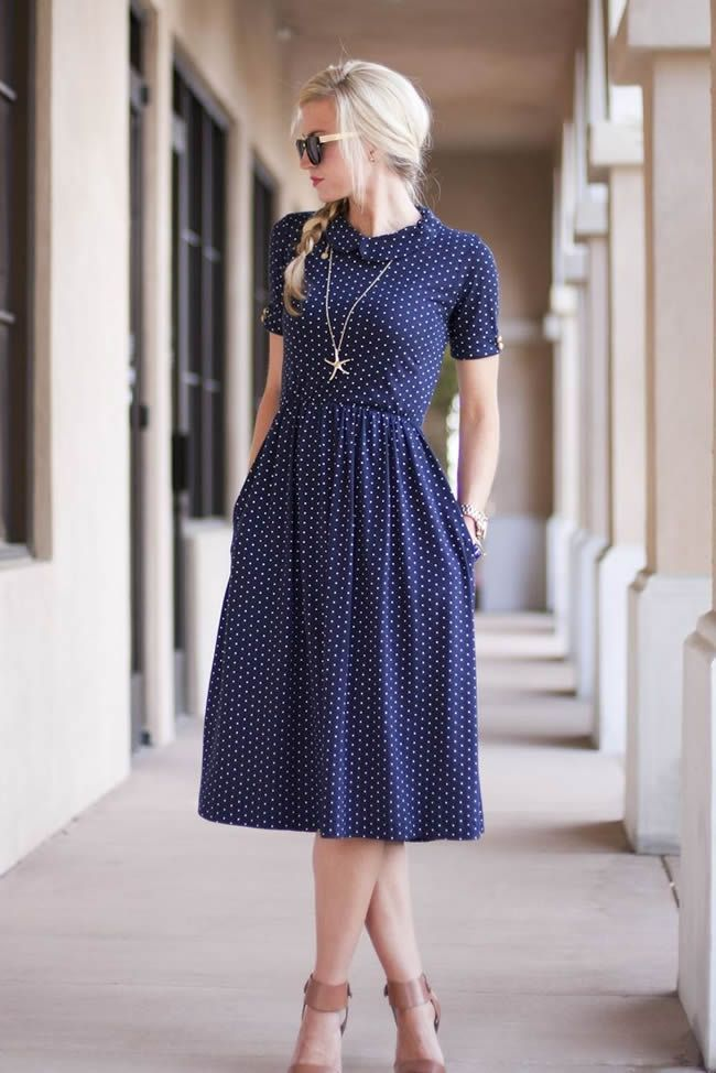 How to Look Pretty in Polka Dots - DesignerzCentral