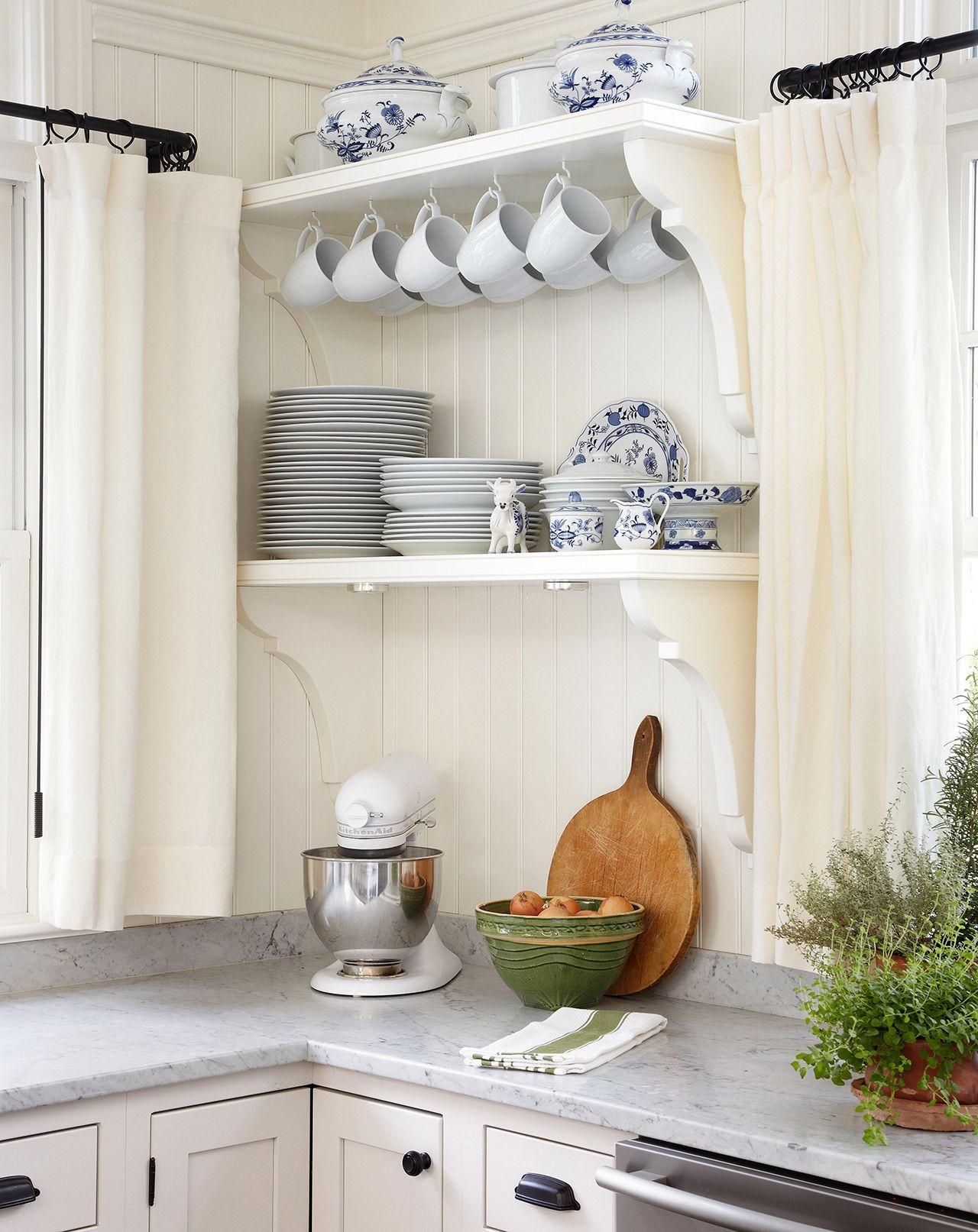 31 Creative Ways To Store Dishes And Utensils That Go Beyond Cabinetry In 2020 Kitchen Shelf Design Kitchen Design Small Kitchen Decor
