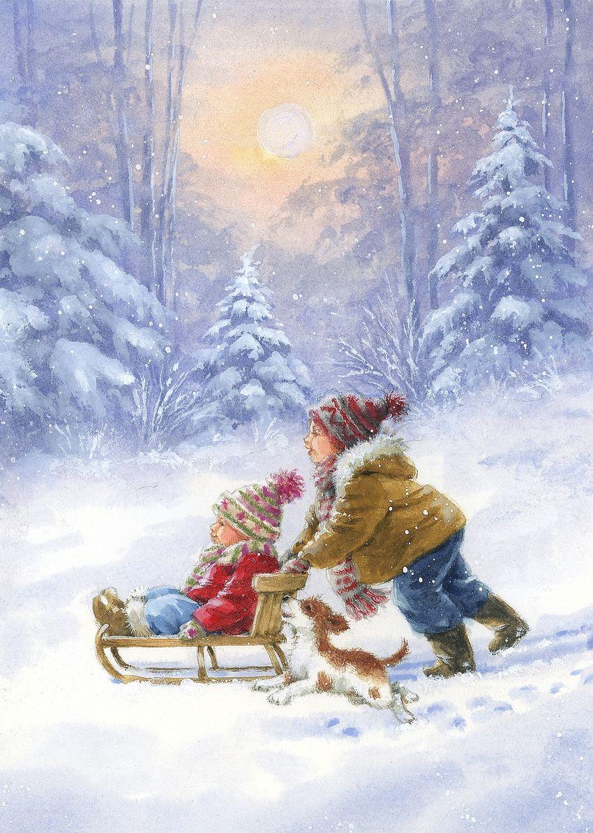 Pin By Xanda On Christmas Christmas Pictures Christmas Artwork Christmas Scenes