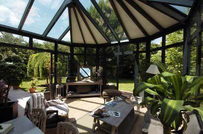 La véranda, une pièce à vivre supplémentaire | Véranda | Veranda, Jardin d'hiver et Piece a vivre