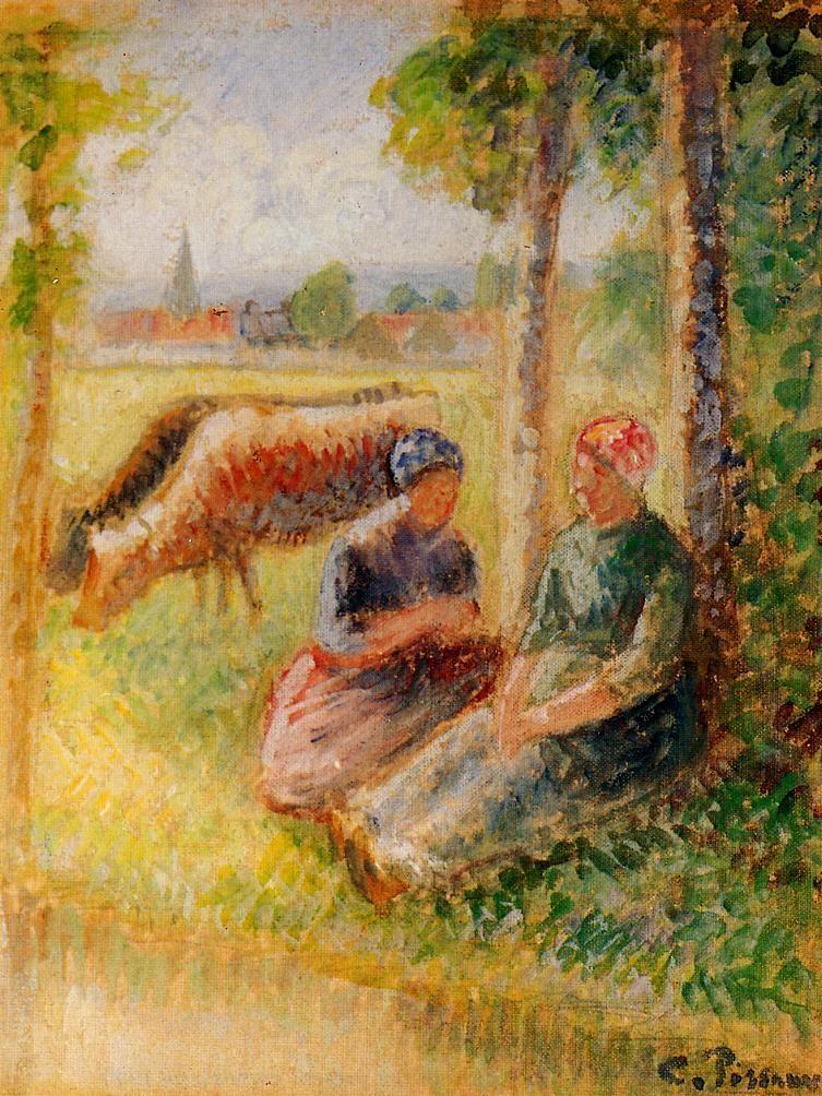 Jacob Abraham Camille Pissarro 1830 1903 Danish French Impressionist And Neo Impressionist Painter 406