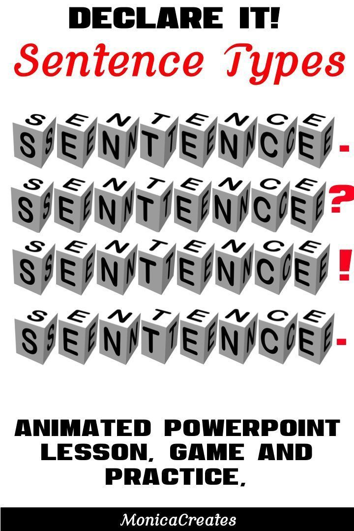Teachers What Can Be Better Teaching Sentence Types Is Important