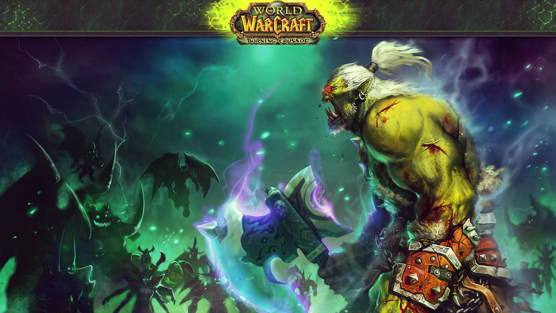 World Of Warcraft Burning Crusade HD Wallpaper | Надо ...
