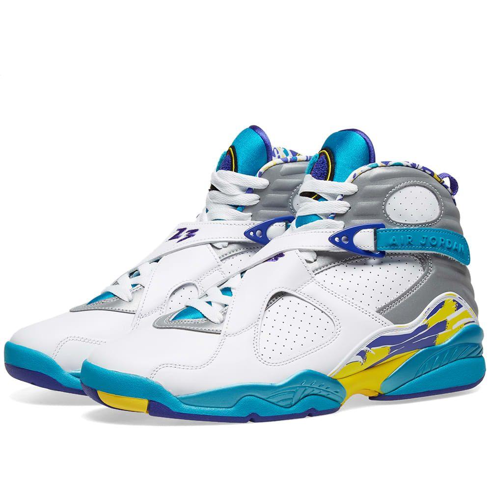 NIKE AIR JORDAN 8 RETRO W. #nike #shoes