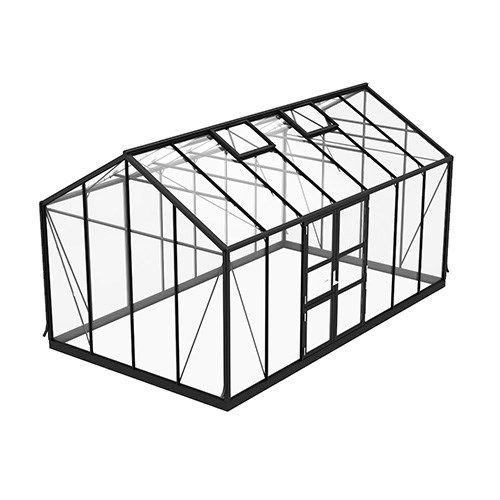 Spira 15,0 m² Växthus från skånskabyggvaror.se
