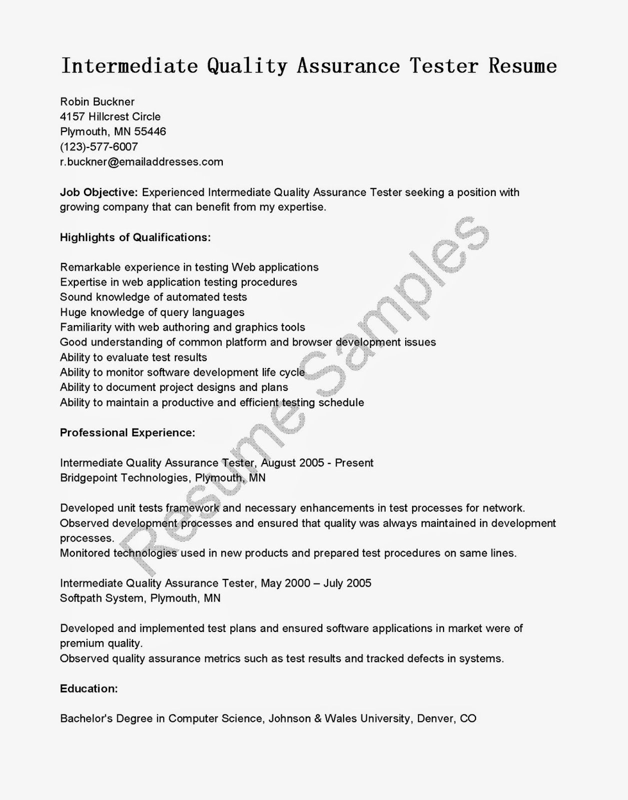 Quality Engineer Cover Letter Resume Automotive Sample  Home