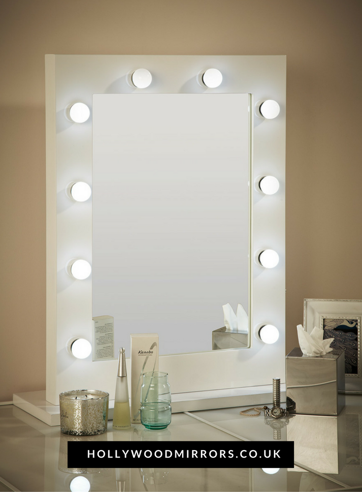 Julia hollywood mirror in white gloss 80 x 60cm hollywood mirror find this pin and more on uk hollywood mirrors makeup mirrors uk dressing table mirrors uk vanity mirrors with lights uk by lightupmirrors aloadofball Choice Image