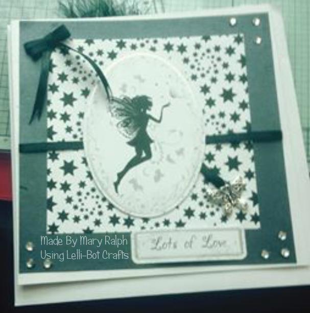 Made by Mary Ralph using Lelli-Bots Fairy Magic Kit