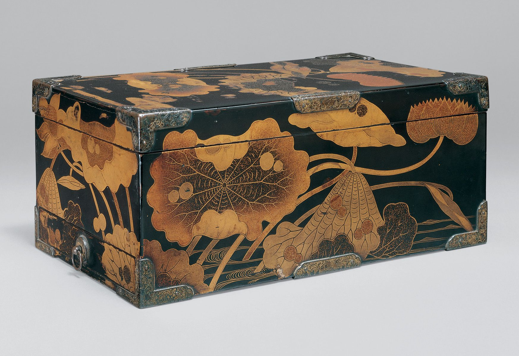 Burke Collection | Sutra box with lotus