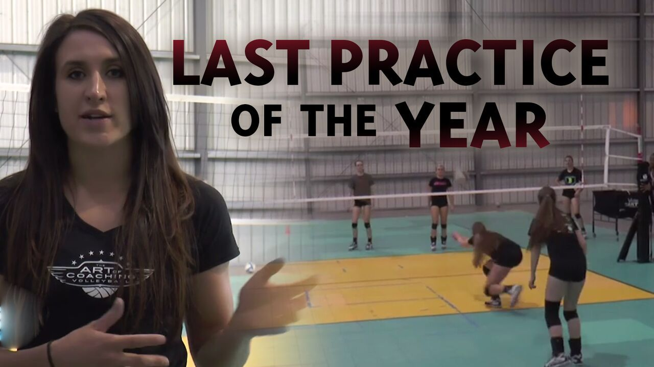 From Skinny Court Tournaments To Dressing Up How Do You Make Your Last Practice Memorable For Your Team Ht Coaching Volleyball Volleyball Workouts Volleyball