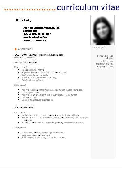 Modelos De Resumes Sivan Mydearest Co