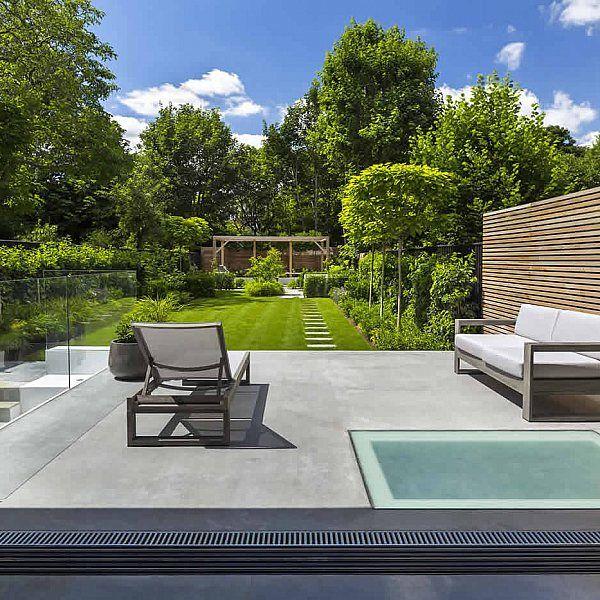Stunning Contemporary Garden garden Pinterest Espacios y Jardín - diseo de jardines urbanos