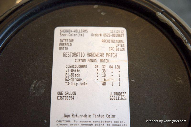 Knock Off Restoration Hardware Paint: SLATE | Paint Colors ...