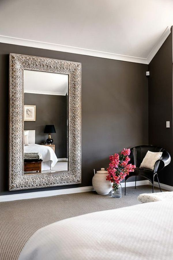 wandfarben schlafzimmer wandgastaltung ideen wandfarbe ideen - ideen schlafzimmer einrichtung stil chalet