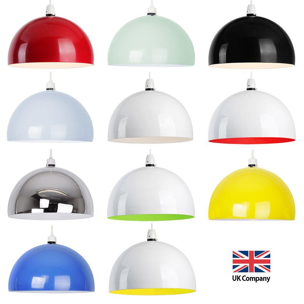 Large Modern Metal Retro Style Ceiling Pendant Light Shade ...
