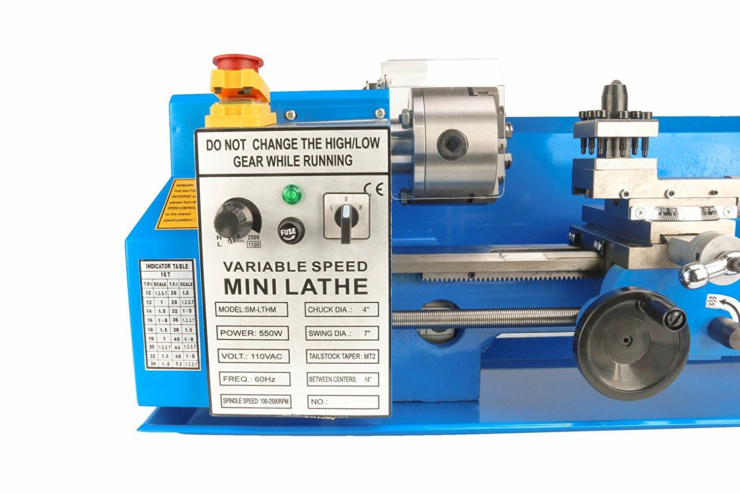 TOP 5 Best Mini Metal Lathes: Reviews & Buying Guide 2018