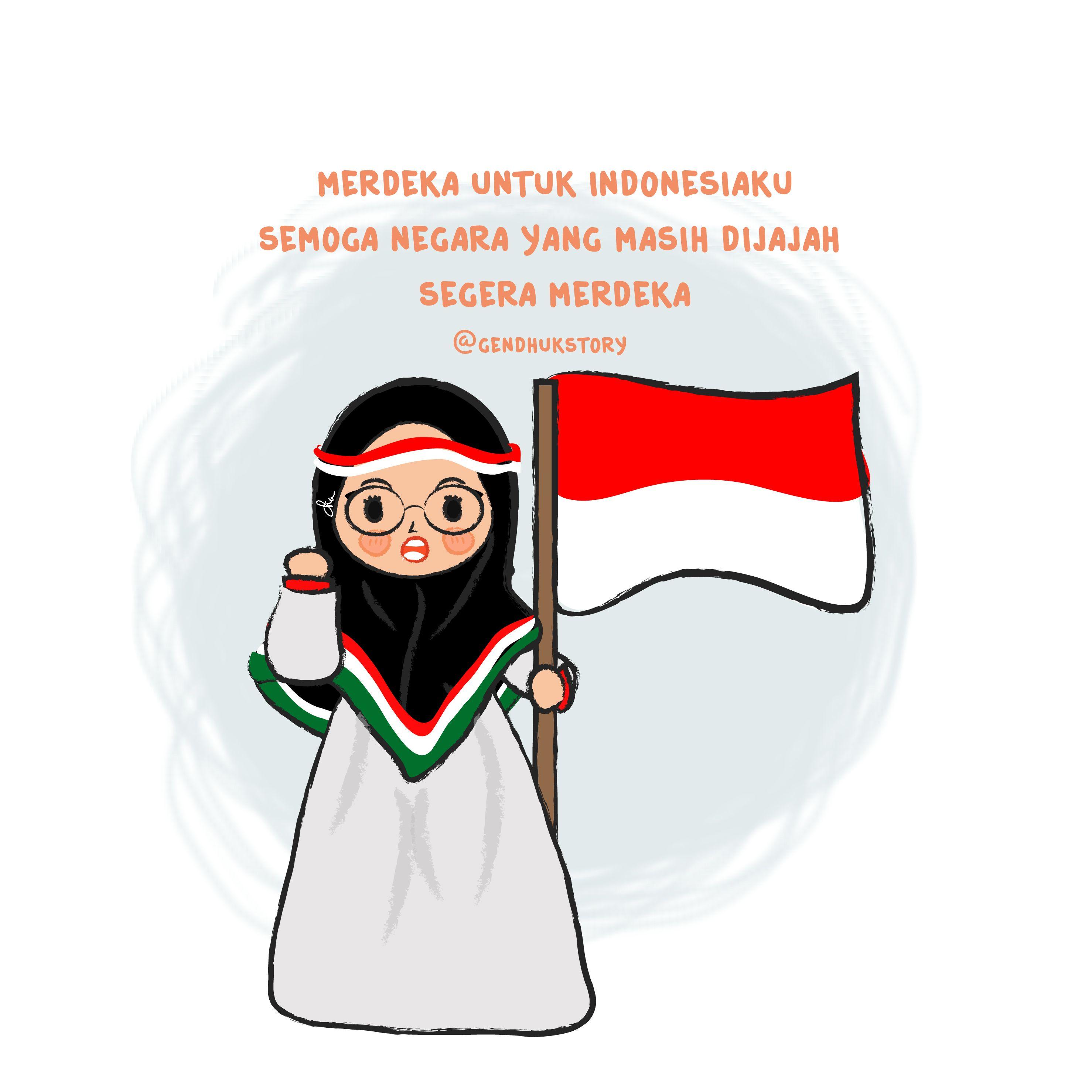 Aminn Dan Semoga Indonesiaku Makin Maju Dan Tentunya