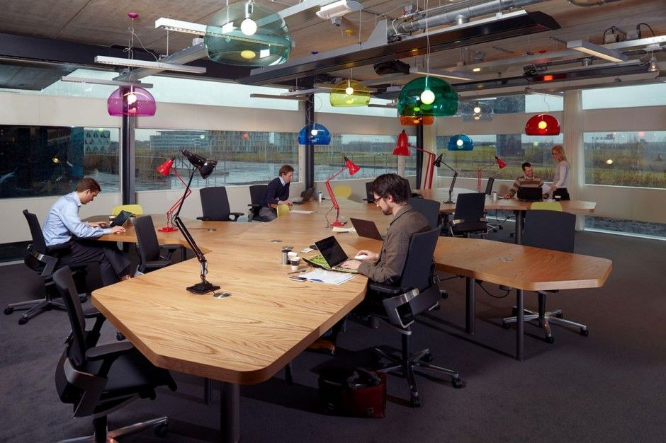 modern open plan interior office space. concept ynno workplace design by sprikk architecture interior pictures and images work spacesoffice modern open plan office space