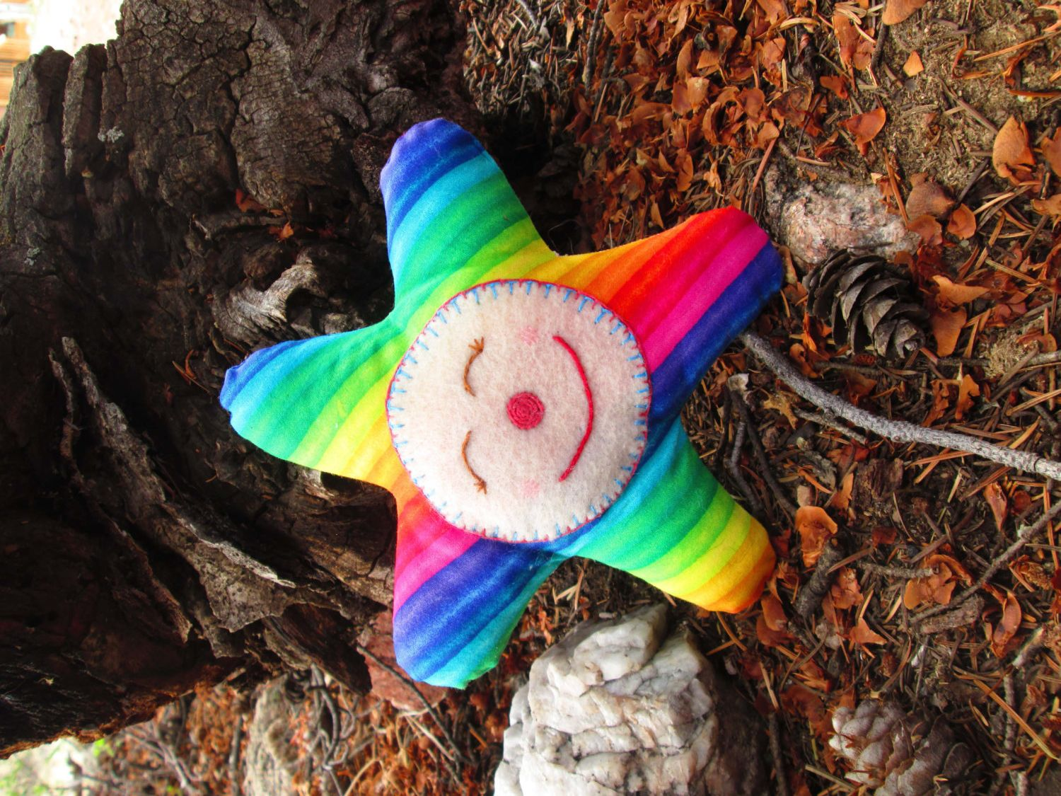 I just listed Happy Rainbow Star Toy on The CraftStar #thecraftstar #uniquegifts