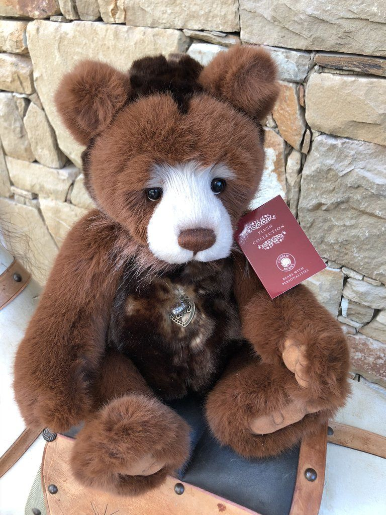 Charlie Bears Pamper Plush 2018 New