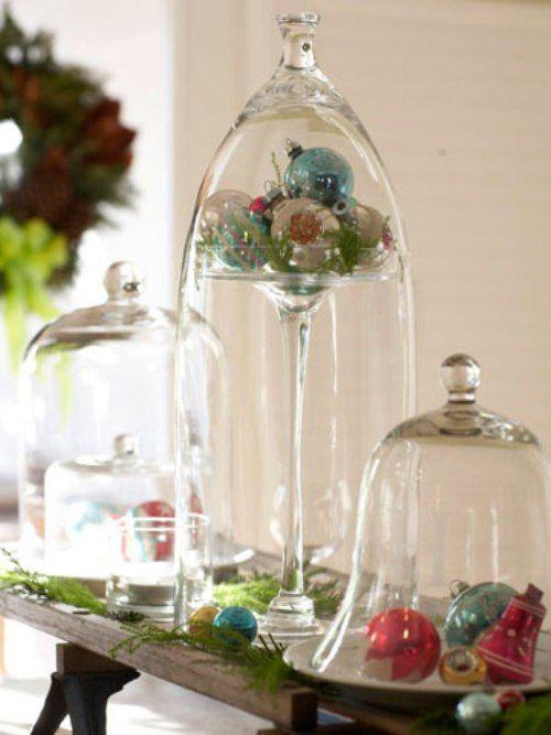 Bell Jar Decorating Ideas Decorative Bell Jars  20 Fresh & Unique Christmas Decorating