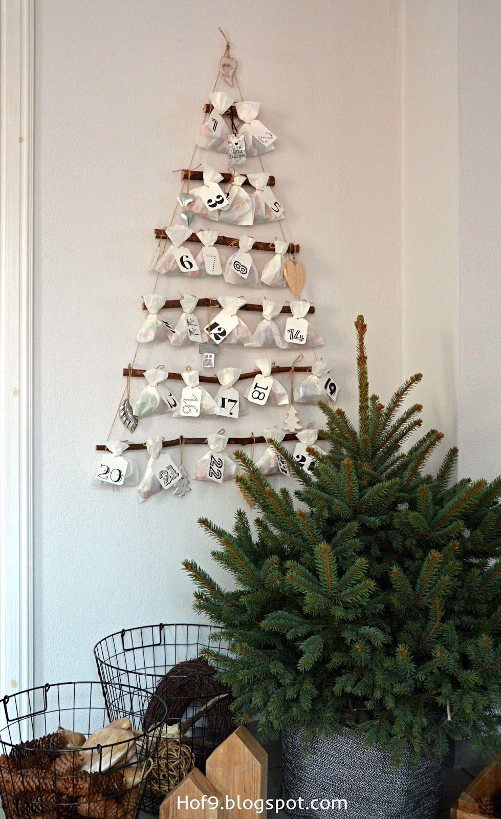 Diy Adventskalender Weihnachtsdeko Adventskalender Basteln