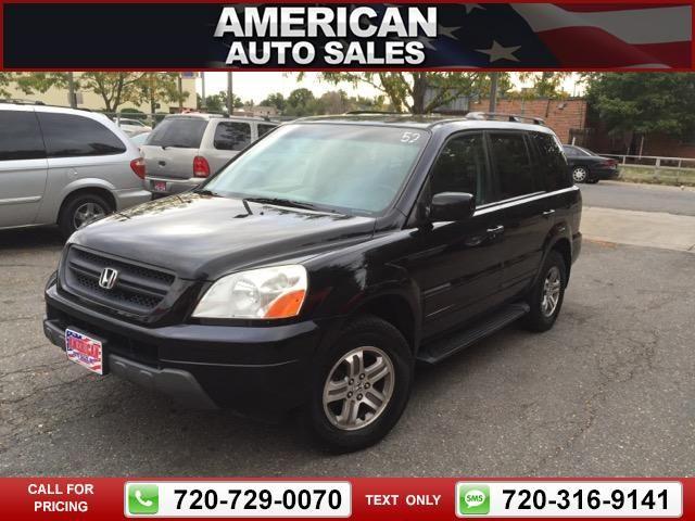 2003 Honda Pilot EX W/ Leather Black Call For Price 168443 Miles  720 729 0070 Transmission: Automatic #Honda #Pilot #used #cars  #AmericanAutoSalesandLeasing ...