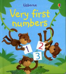 $6.99 Very First Numbers for age 9 months and up. Beautifully illustrated, colorful educational sturdy board book made from sustainable source and plant ink
