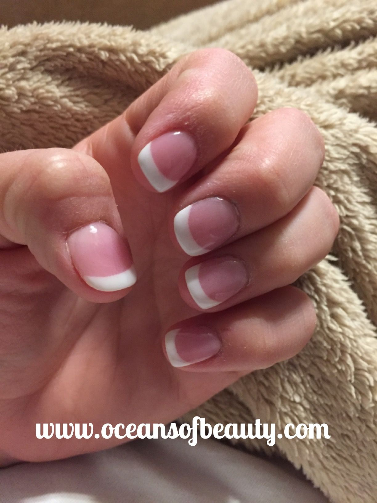 Dark Pink & French White. EZdip Gel Powder. DIY EZ Dip. | Cat Claws ...
