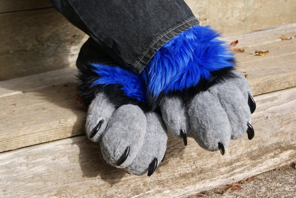 Fursuit Sock Paws by on
