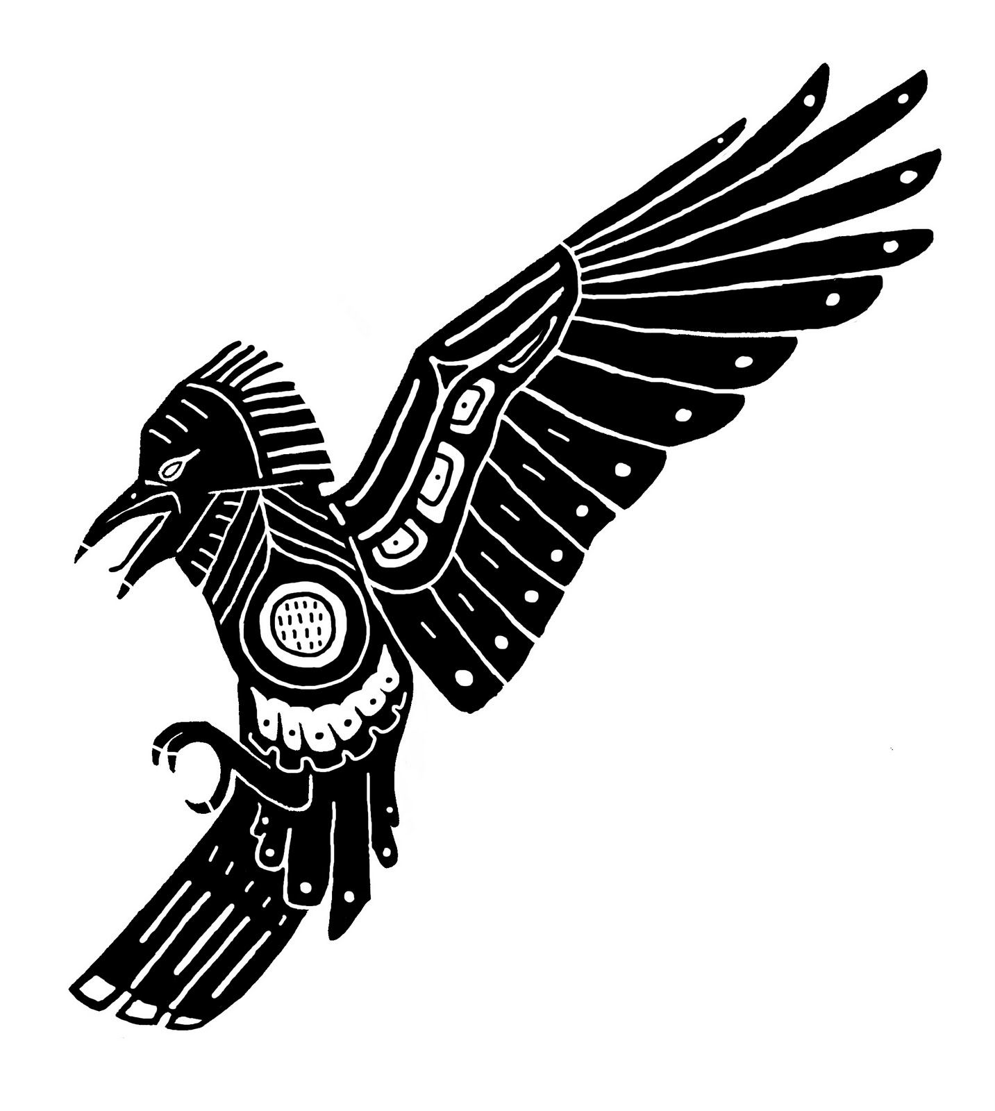 Crow Tattoo Designs Meaning