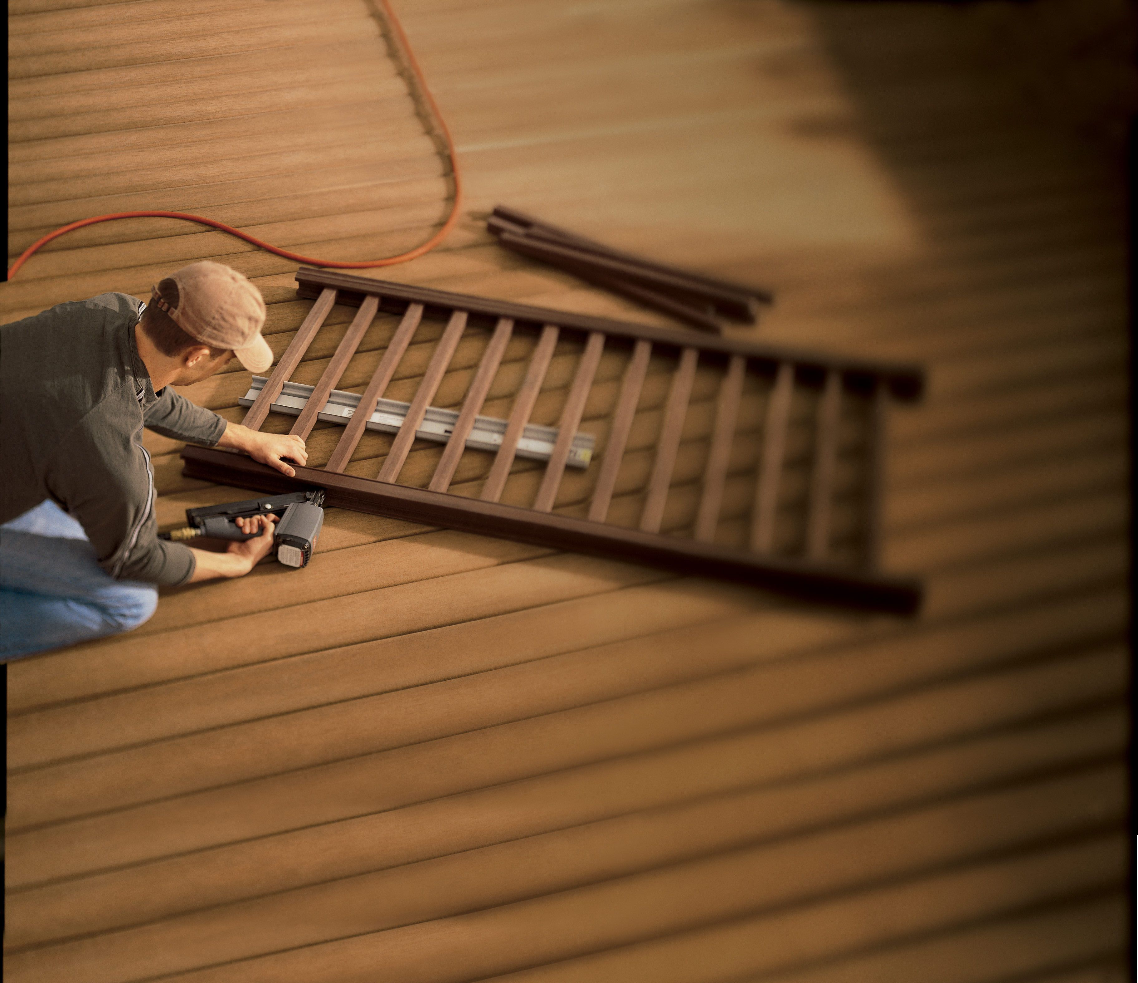 Contractor Easy To Install Wpc Floor Composite Decking Wpc