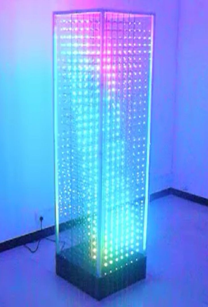 led cube like pinterest technologie technik und skulpturen