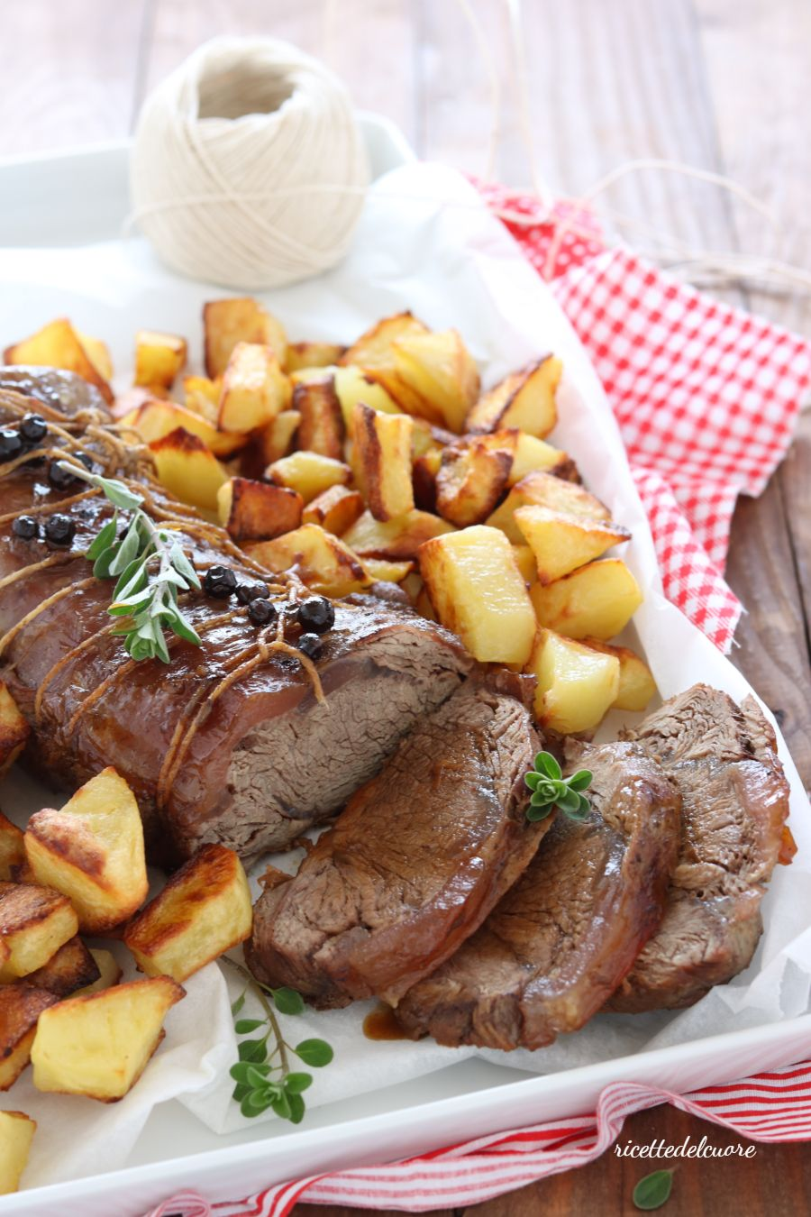 Photo of Tender and juicy roast beef – ricettedelcuore