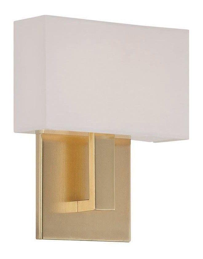 WAC Lighting Manhattan LED Wall Sconce & Reviews   Wayfair ... on Wayfair Bathroom Sconces id=81342