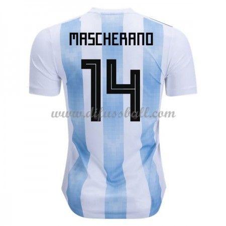 Günstige Fußballtrikots Argentinien Trikot nationalmannsch