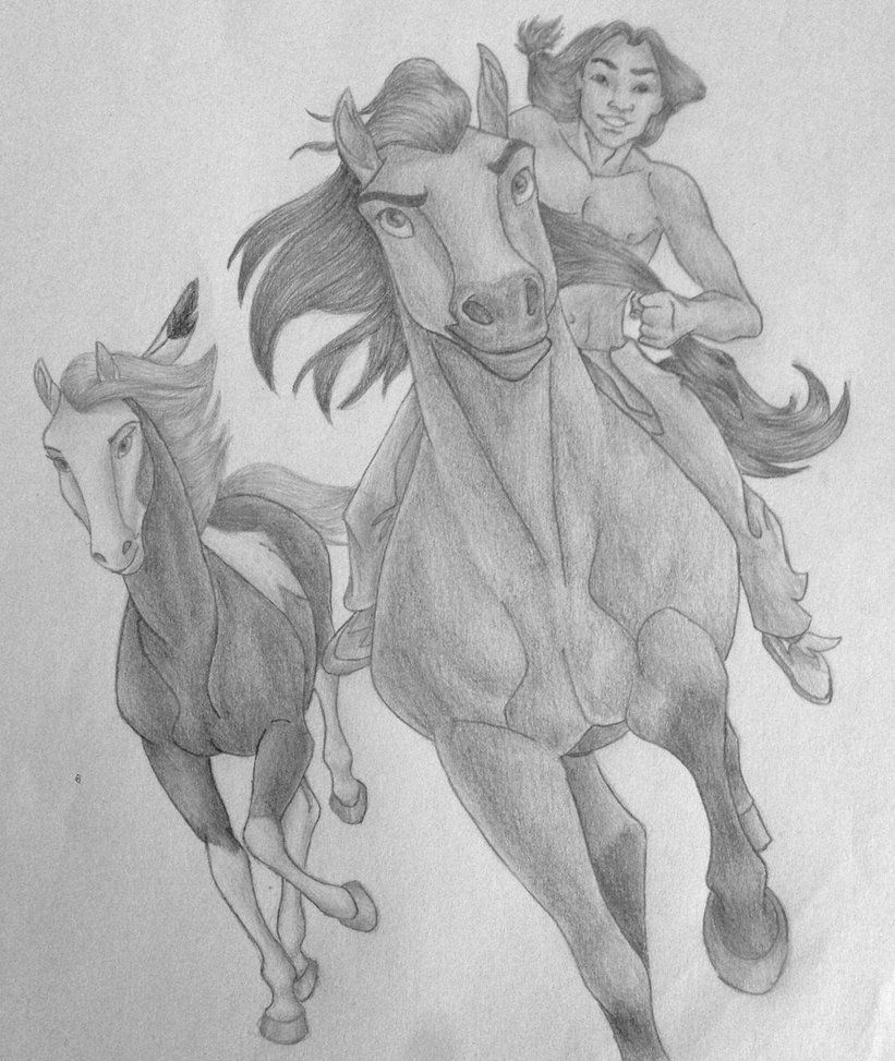 Spirit: The stallion of the cimarron by DisneyMonica on ...