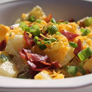 My Bacon Ranch Potato Salad Recipe is now on YouTube! The video link is in my bio. Please share the video link with a friend or two ( or post the link on Facebook) #iheartrecipes #potatosalad