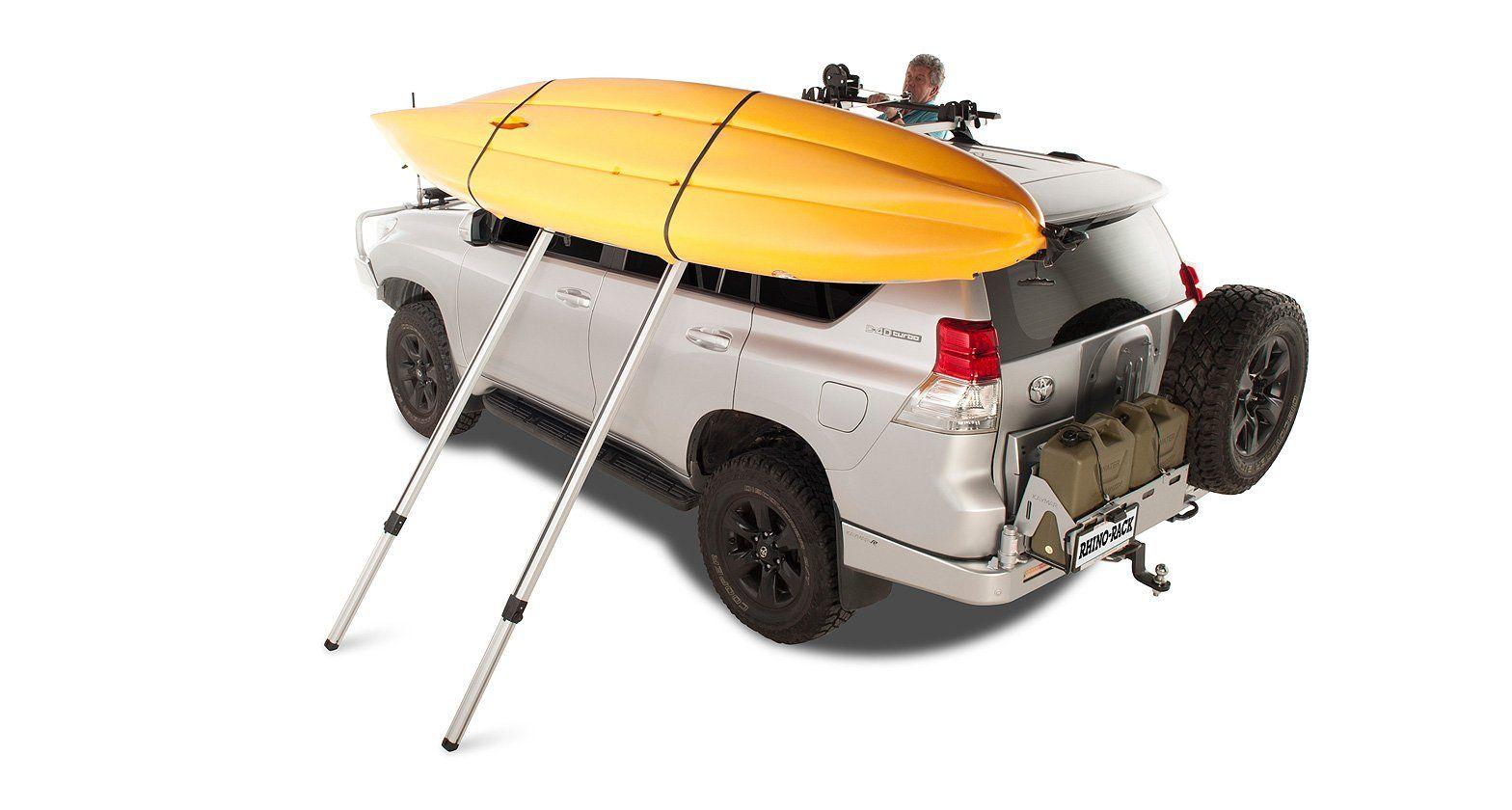 Canoe Car Racks Rhino Rack NKLFK1 HD Bar Nautic Kayak