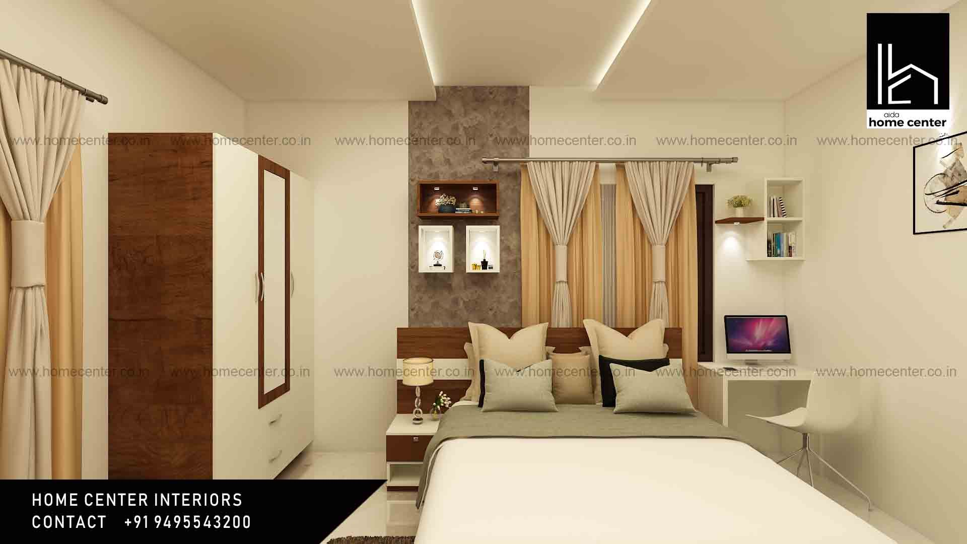 Home Center Interior Designers In Trivandrum With The Best Decorators Who Are Expertized In Interior Designing Furnish Interior Best Interior Bedroom Interior