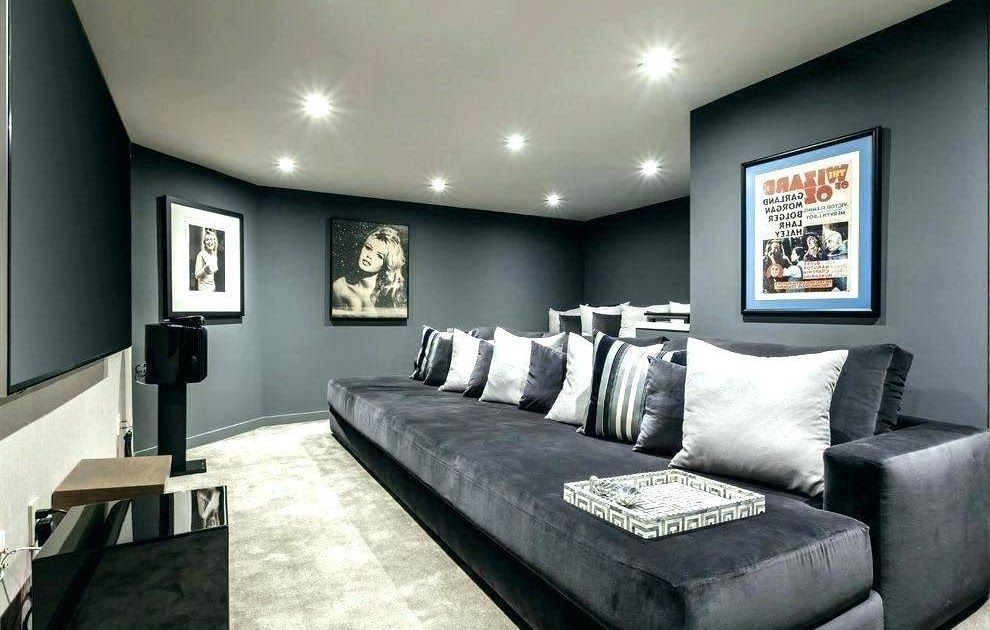 Blue Living Room Furniture Decorating Ideas In 2020 Modern Grey