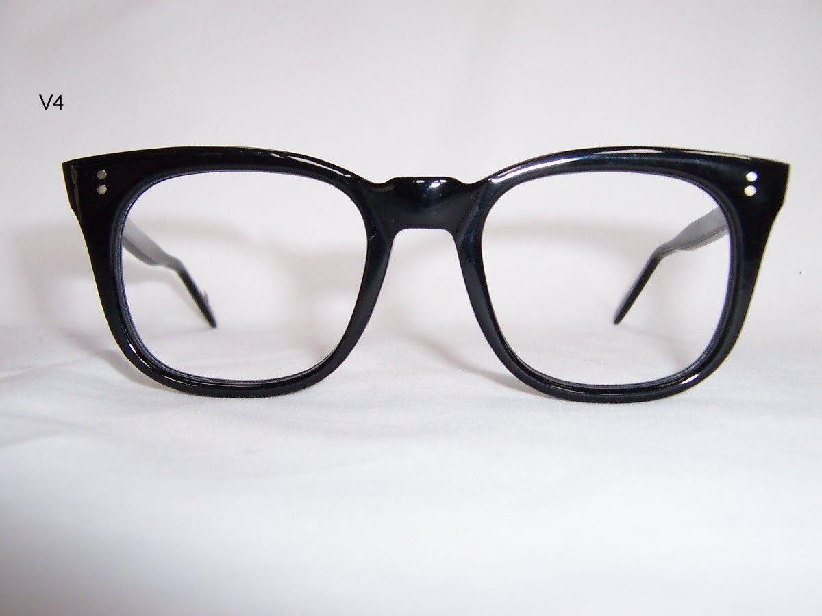 Classic Black 1960 S Rocking Spectacles Vintage Glasses Dead Men S Spex Vintage Glasses Retro Eyewear Glasses