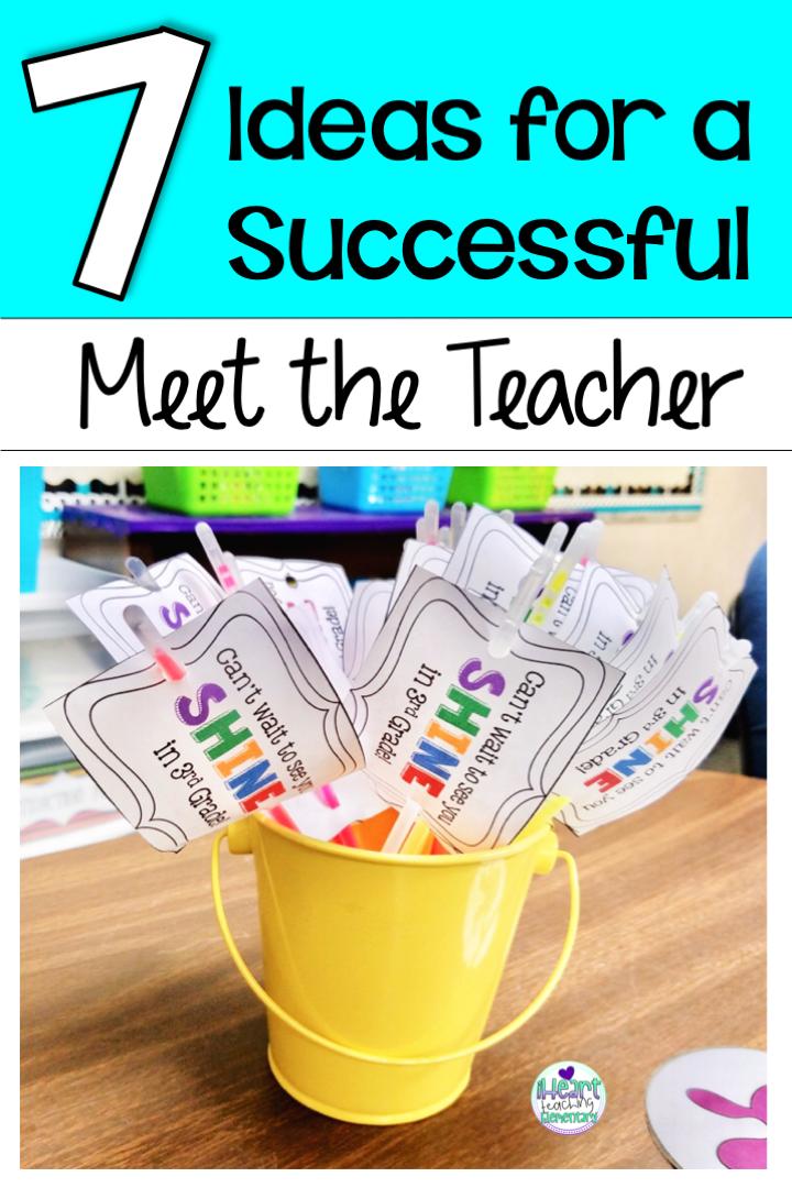 7 Ideas for a Successful Meet the Teacher