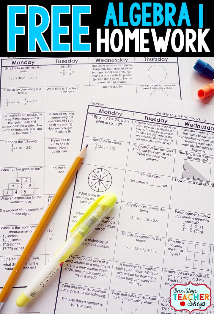 Algebra 1 Unit 2 Homework Answers